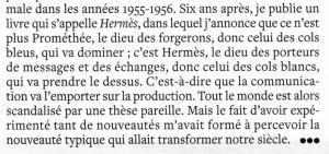 Michel SERRES extrait interview L'EXPRESS 23 janvier 2013